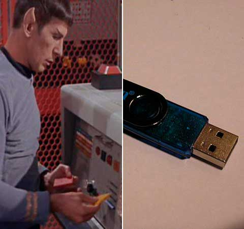 Pen drive Star Trek